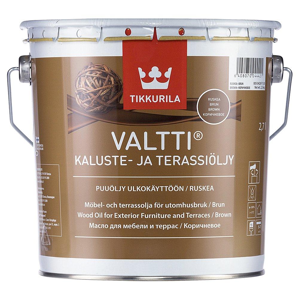 VALTTI KALUSTE- JA TERASSIOLJY 3L