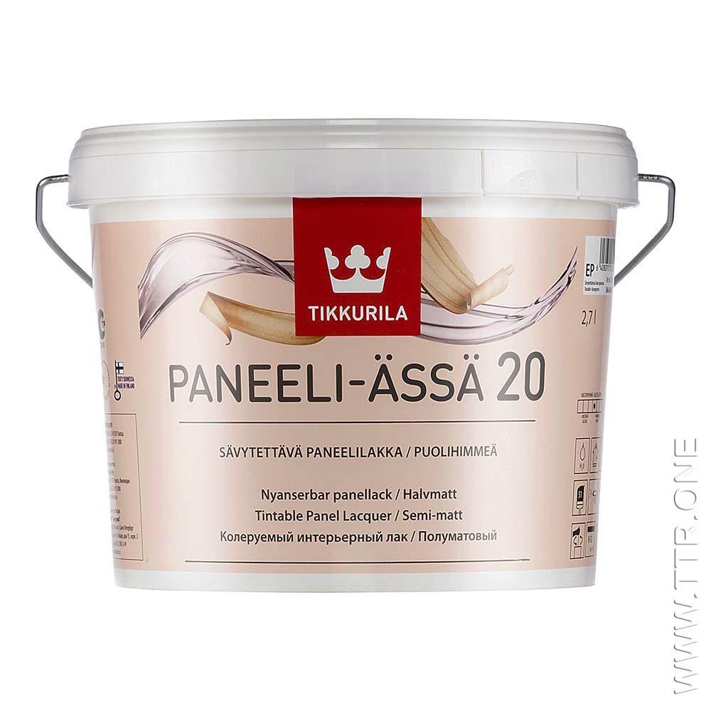 لاک پانلی آسا 20 از تیکوریلا قوطی 3 لیتری