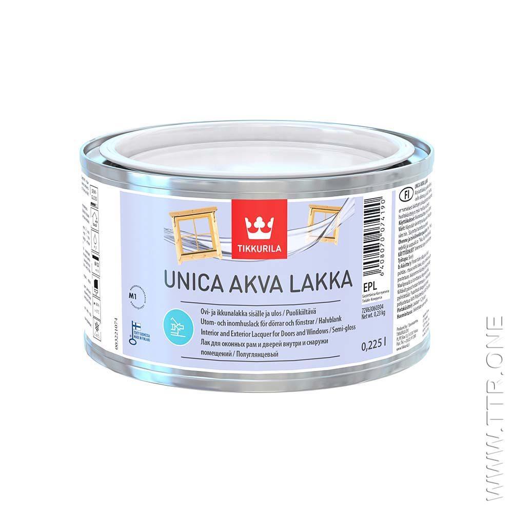 لاک چوب یونیکا آکوا از تیکوریلا