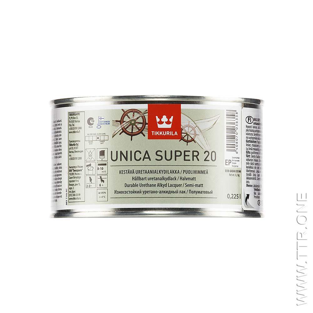 لاک چوب یونیکا سوپر 20 تیکوریلا