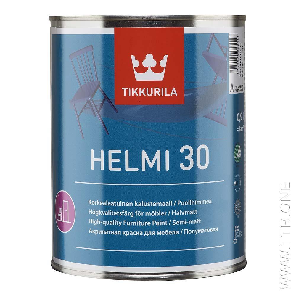 رنگ هلمی نیمه مات تیکوریلا برای مبلمان چوبی و فلزی، رادیاتور، درب و پنجره داخل ساختمان