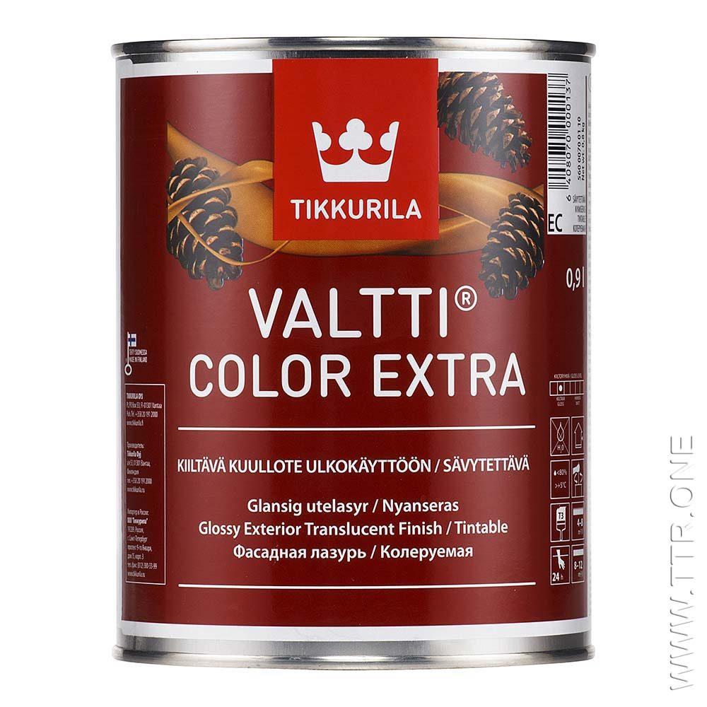 والتی کالر اکسترا، رنگ چوب و چوب ترمو، نیمه شفاف (فینیش) از تیکوریلا فنلاند، یک لیتری